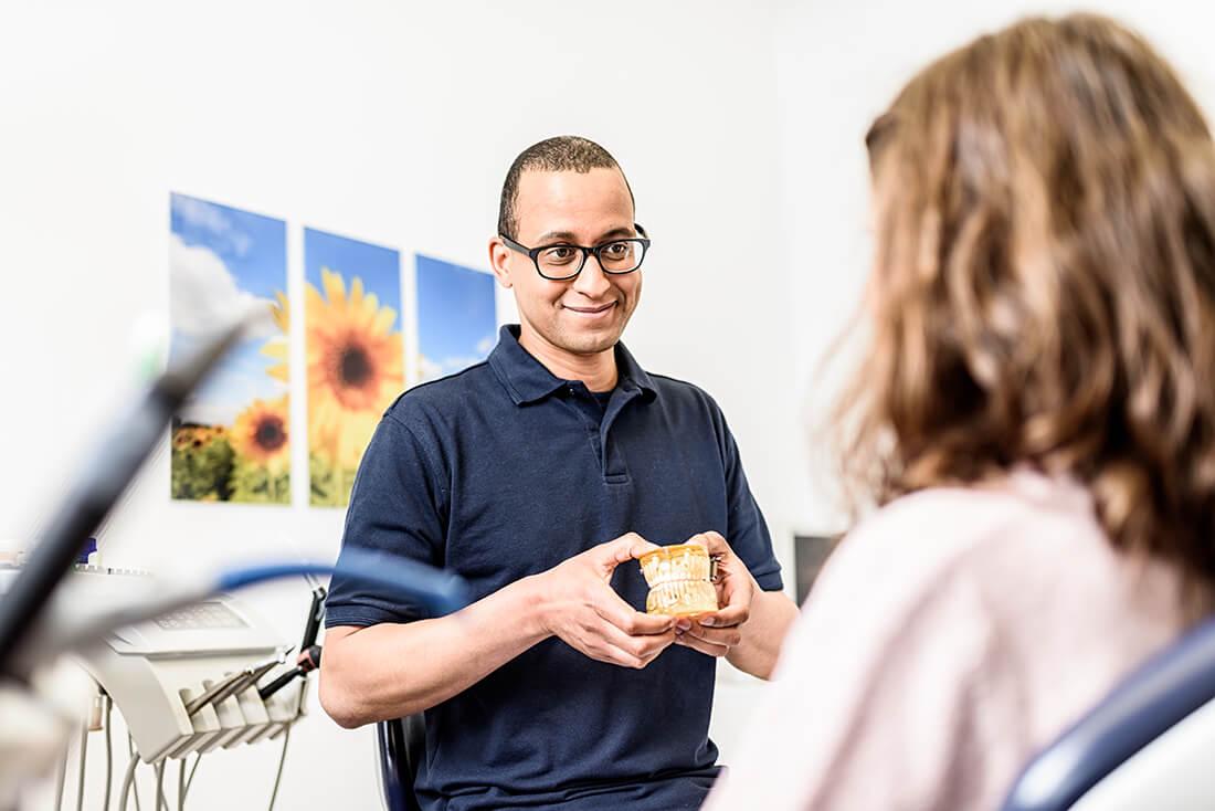 Zahnarzt Remscheid - Praxis Waldau - Beratung