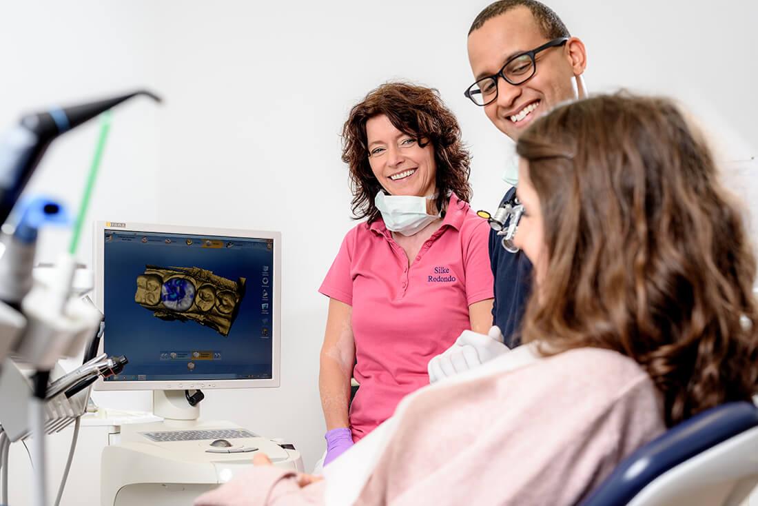 Zahnarzt Remscheid - Praxis Waldau - Cerec - computerunterstütztes Verfahren